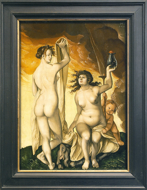 Hans Baldung Grien - Two Witches [1523]