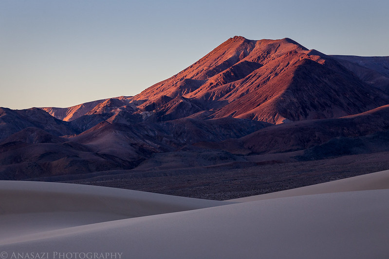 Sand, Mountain, Light