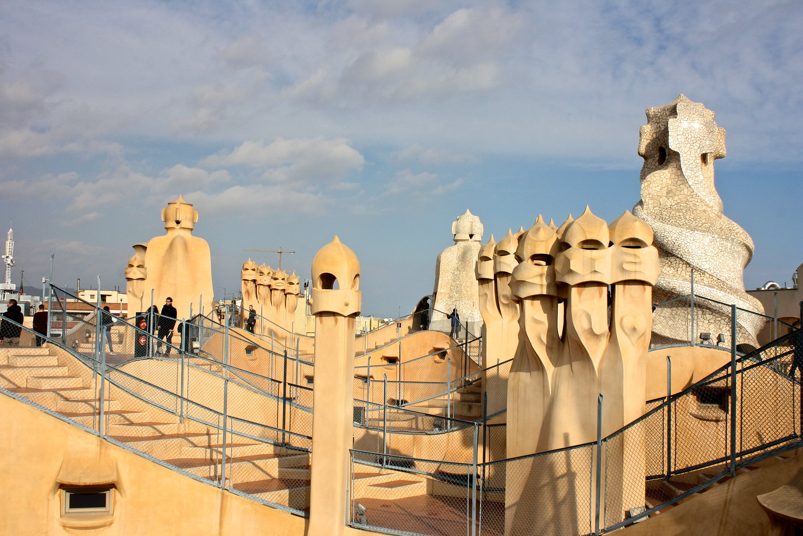 Casa Milà / La Pedrera by Antoni Gaudí in Barcelona, Spain