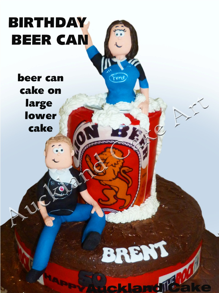 Tremendous Beer Can Cake Beer Can Cake Favourite Lion Red Beer As A Flickr Funny Birthday Cards Online Alyptdamsfinfo