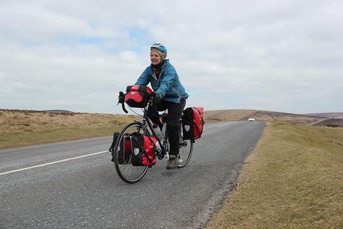 Cycling across Dartmoor