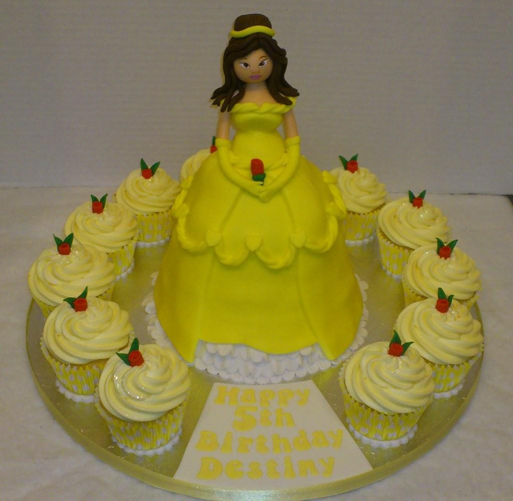 Cool Belle Birthday Cake Liz Flickr Birthday Cards Printable Trancafe Filternl