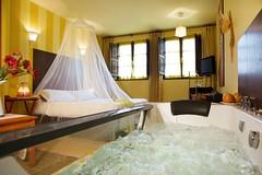 Habitación. Hotel La Llosa de Fombona