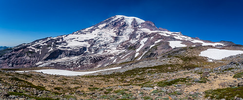 Mt. Rainier Pano from the highest point on Skyline Trail | by Scrumhalf