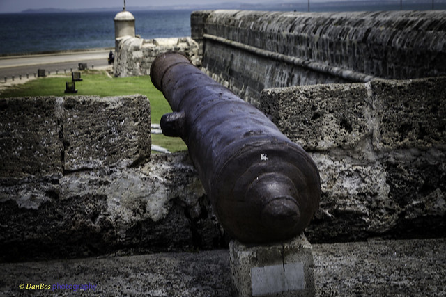 Cannon & walls of the old colonial city