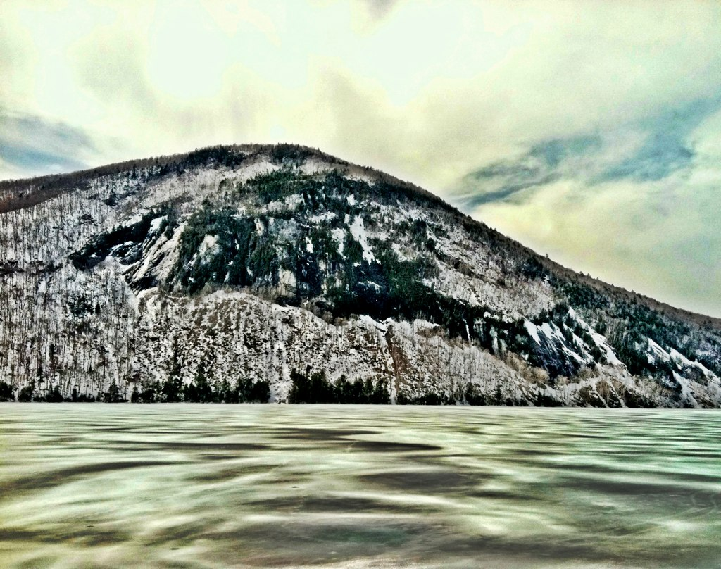A view of Mt Pisgah from Mt Hor in Westmore, VT | Westmore