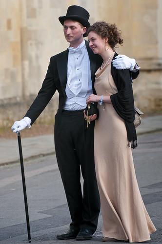 UK - Oxford - Glamorous Couple 01