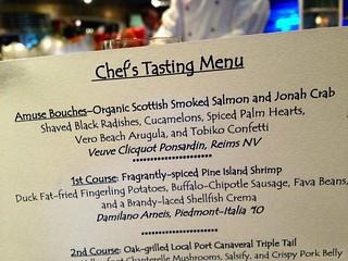 Chef's Tasting menu at Flying Fish   by Erin *~*~*