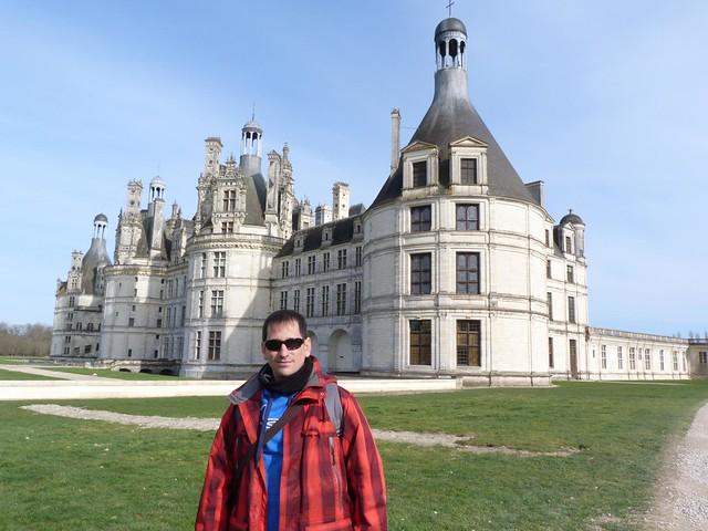 Sele en el castillo de Chambord (Valle del Loira, Francia)