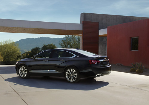 The all new 2014 Chevrolet Impala set to make a statement at New York Auto Show when it is unveiled on April 4th. Photo