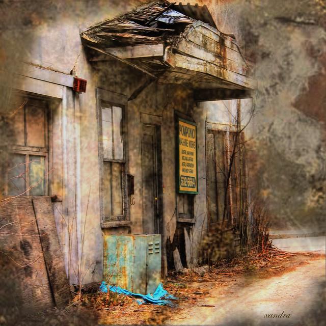 ...the corner of nowhere...
