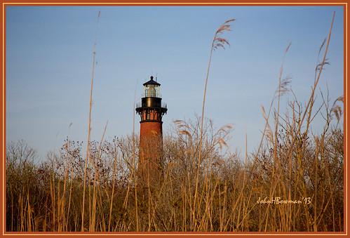 northcarolina currituckcounty outerbanks corolla lighthouses atlanticlighthouses northcarolinalighthouses currituckbeachlight historic nrhp warmsunlight blueskies april2013 april 2013 canon241054l lighthousetrek lightkeeperaward
