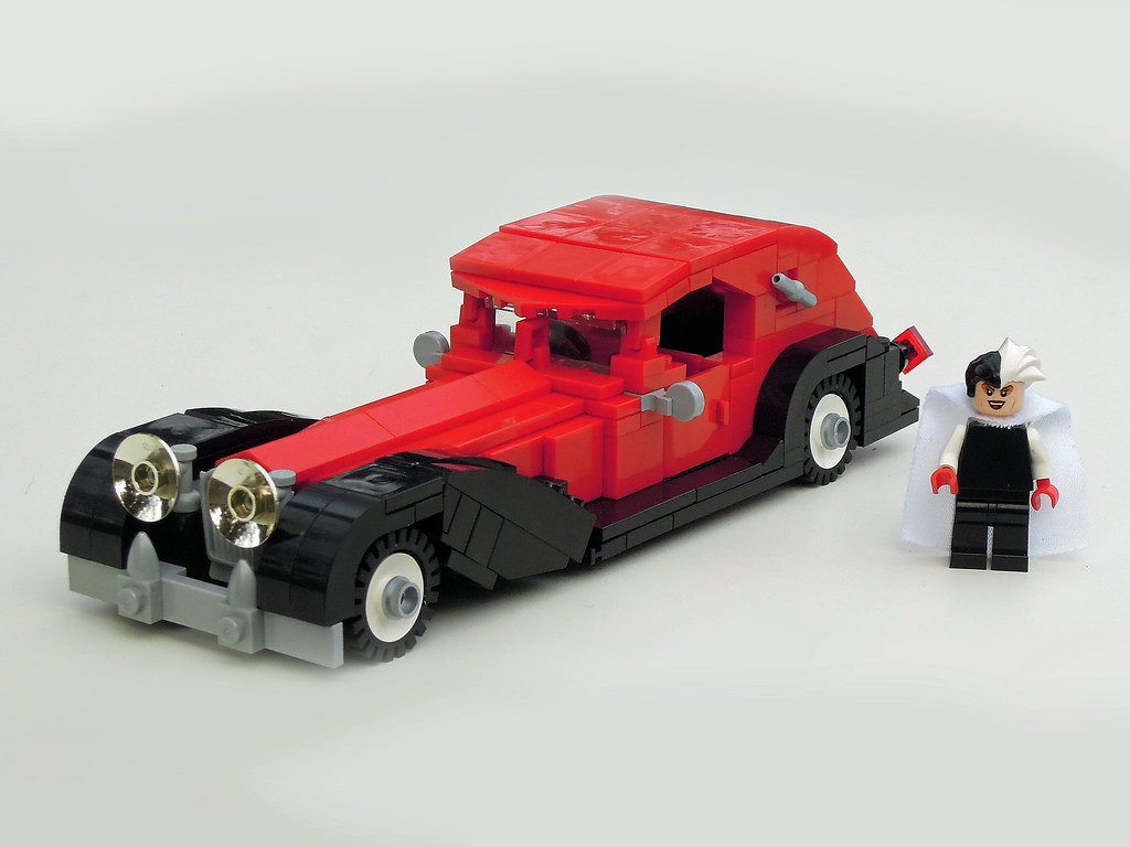 Cruella De Vil S Lego Car The Classic Disney Car From Disn Flickr