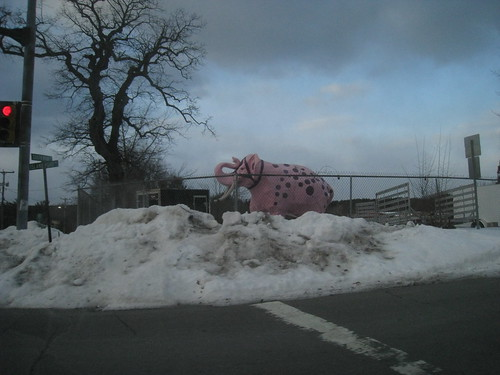 pink elephant purple newengland advertisement fiberglass plastercast rt28 derrynh