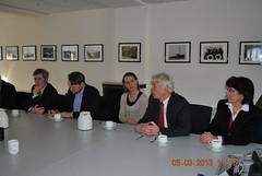 Besuch der NOK-Schleuse in Brunsbüttel