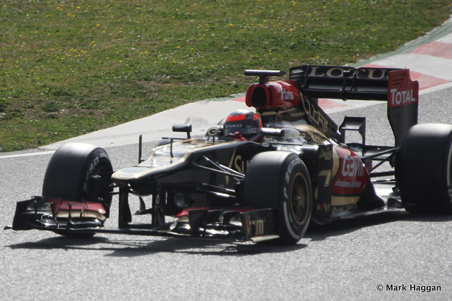 Kimi Raikkonen in Formula One Winter Testing, 3rd March 2013