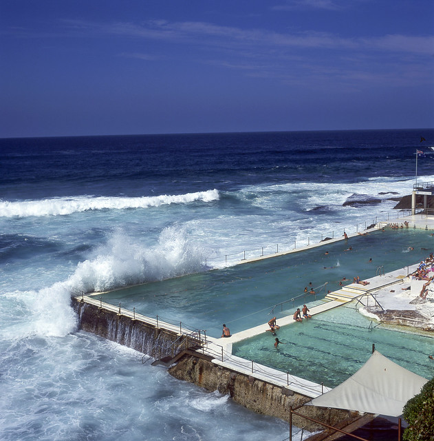 Bondi Icebergs swimming pool - not bad for an old film camera :)