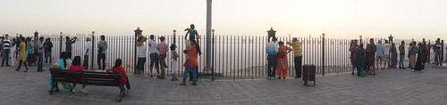 Lots of Indians at the top of a mountain   by CharlesFred