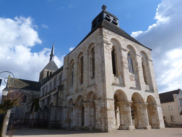 abadía de Saint-Benoît-sur-Loire (San Benito del Loira)