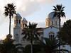 Limassol – katedrála ve večerním slunci, foto: Petr Nejedlý