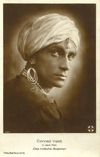 Conrad Veidt in Das indische Grabmal (1922)