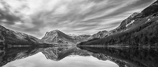 Reflections Buttermere in B&W | by Ian Purves