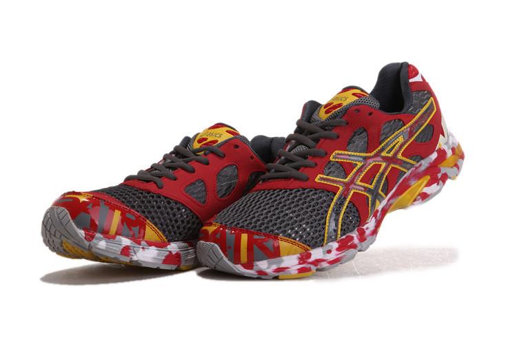 premium selection 13820 de7fe ... Asics Gel Noosa TRI 7 Mens Running Shoe Red Grey 2   by  asicsgelrunning.com
