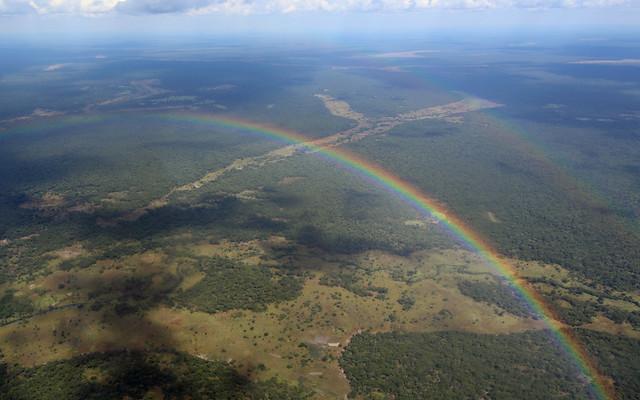 Rainbow, Bangweulu Wetlands