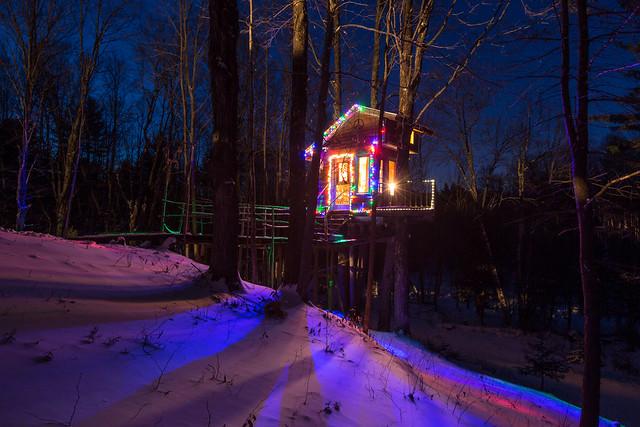 The Tiny Fern Forest Treehouse - Lincoln, VT - 2013, Feb - 02.jpg