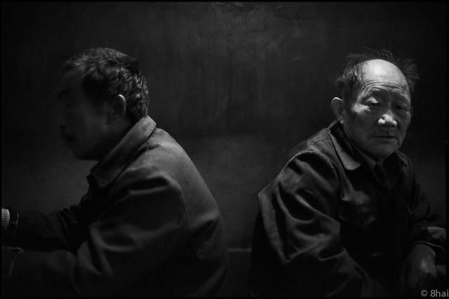 Tongxiang teahouse桐乡茶馆2003-71