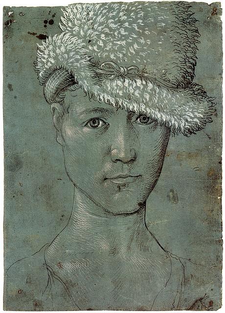 Hans Baldung Grien - Self-portrait [1502-04]
