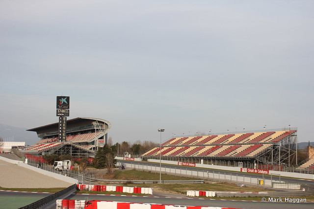 Empty stands after Formula One Winter Testing, 3rd March 2013
