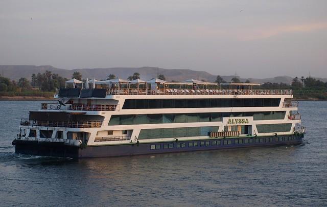 Nile Cruise Boat - Alyssa - Departing From Edfu Egypt