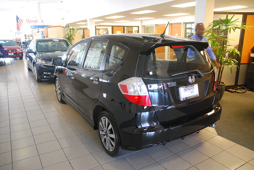 Black 2013 Honda Fit ECH 10-13-12 1 Photo