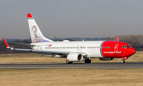 Norwegian B737-8JP  LN-NGJ (First Visit) | by Transport Pixels