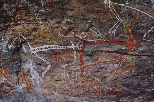 Aborigine wall art