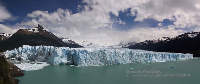 Parque Nacional Los Glaciares, Perito Moreno Glacier, panorama