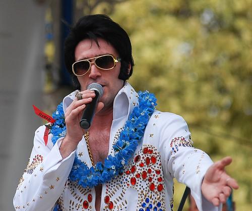 Almost Elvis Band at Horsham Festival of Sound 2012