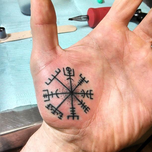 7th Times A Charm Vegvisir Vikingcompass Vikingtattoo Flickr