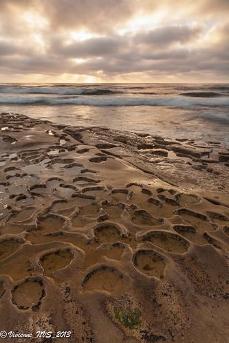 ocean california sunset beach rocks waves lajolla pacificocean potholes hospitalbreak hospitalbeach hospitalreef