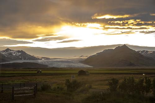 brunnhöll island 100er nikon d7200 sunset