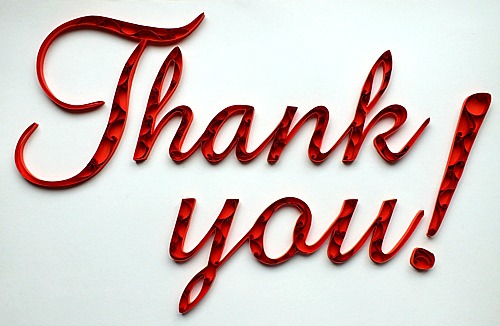 Thank You Quillography | by all things paper