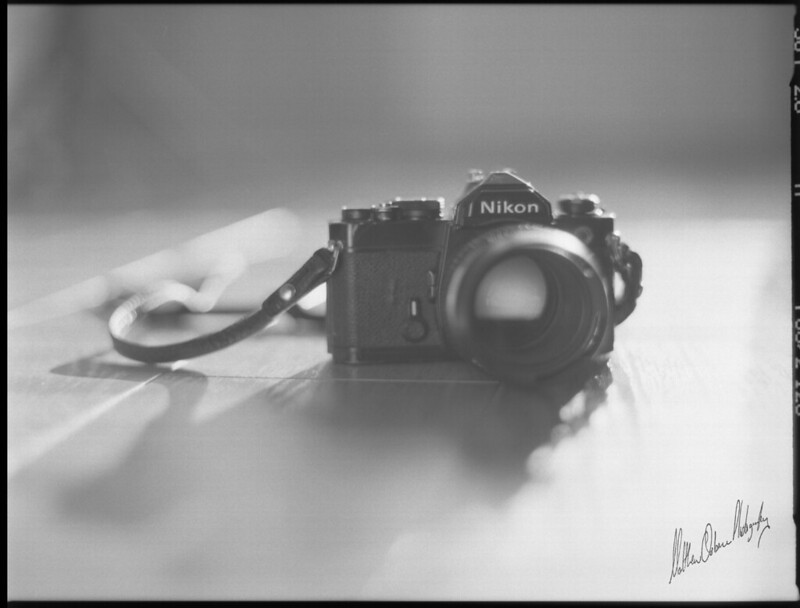 Nikon FM & Nikkor 50/1.2 AIS
