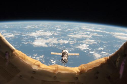 Progress 50 Approaches Station | by NASA Johnson