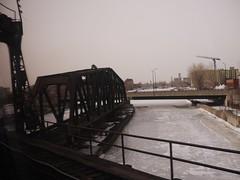 土, 2013-02-02 09:36 - 凍った運河