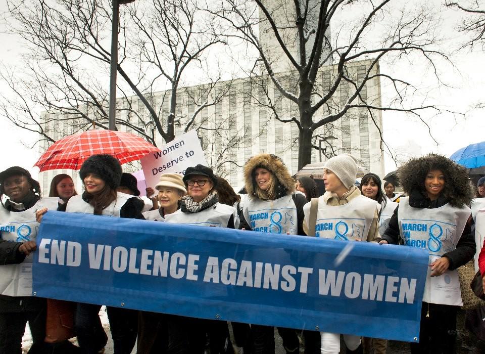 """UN Women for Peace"" March Marking International Women's Day"