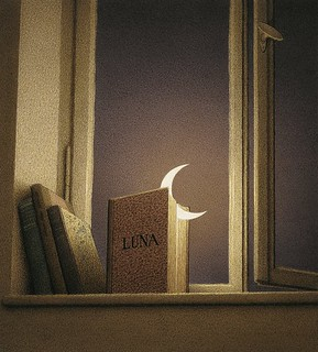 'Luna' (1997) by Quint Buchholz | by Plum leaves