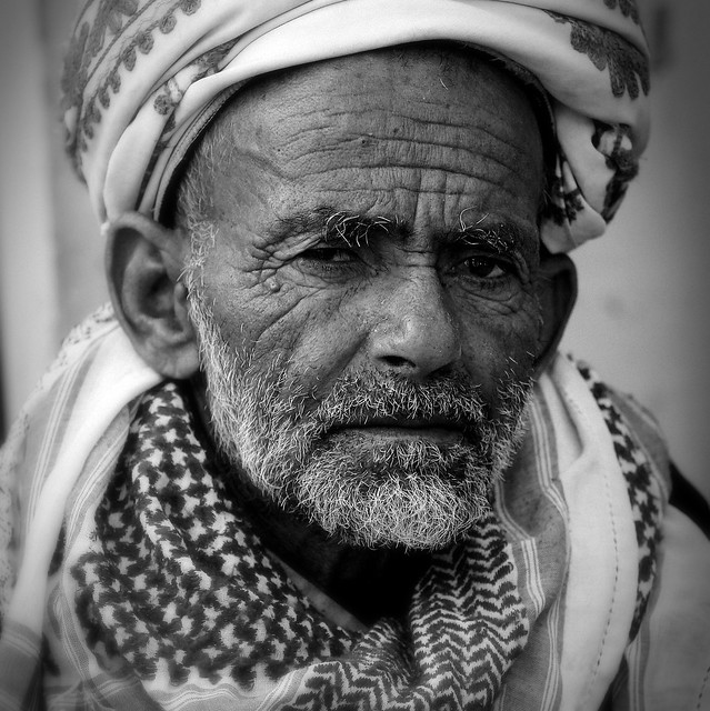 Yemen: homme de la région de Taizz.
