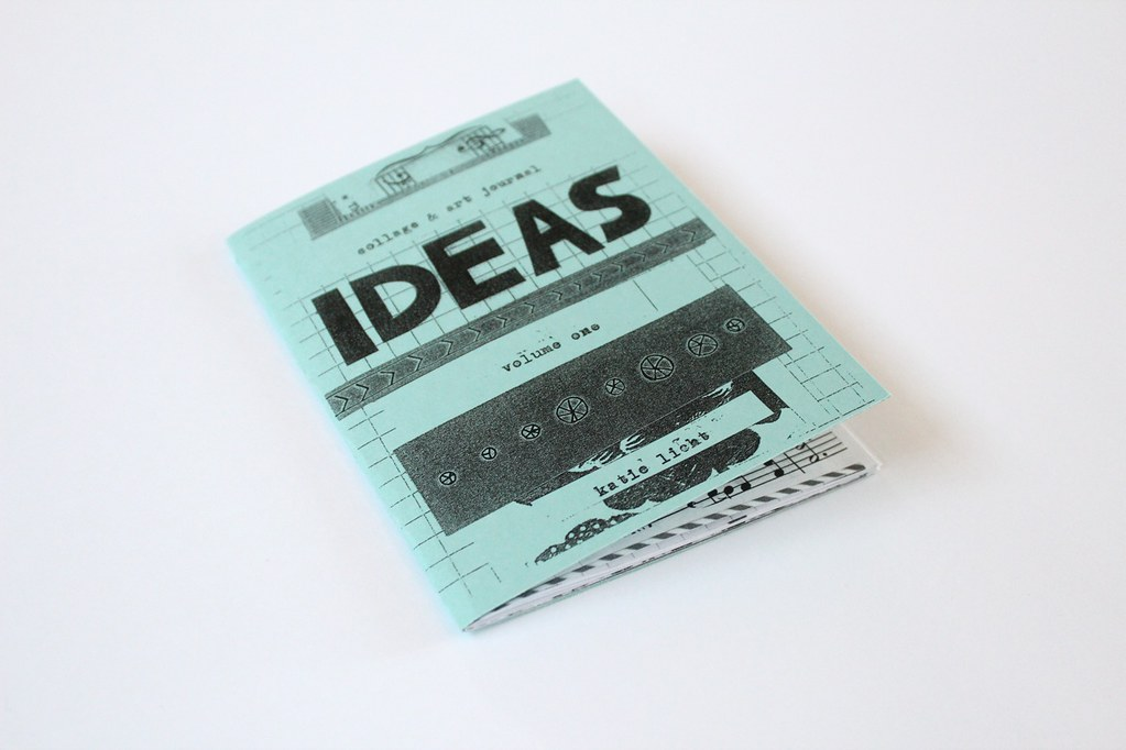 collage \u0026 art journal ideas zine