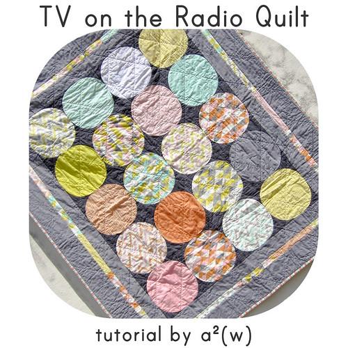 tv on the radio quilt tutorial asquaredw | by a²(w) - asquaredw - Ali